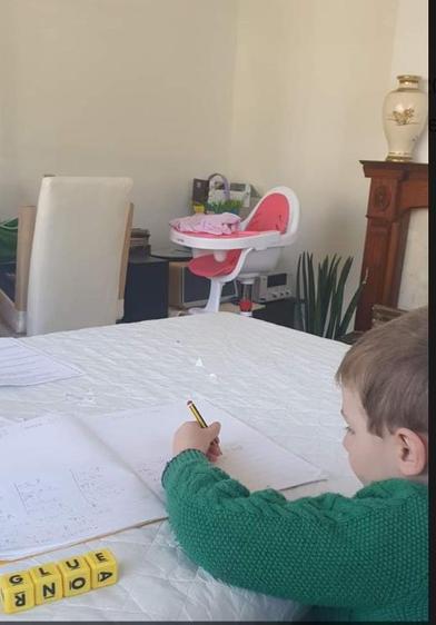 Mason, look at that hard work ⭐️
