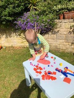 Hugh has been very creative this week!⭐️