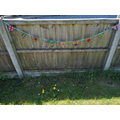 Gabriel's VE Day bunting