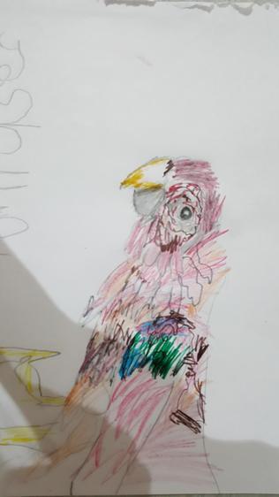 Joshua's art work. This is amazing!
