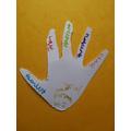 Gabriel's thankful hand