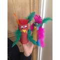 Anastasia's parrots