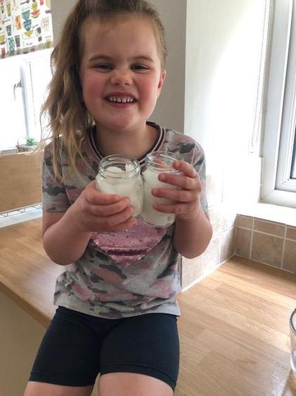Rosie enjoyed the Jack & the Beanstalk activities⭐