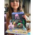 Mabel's ocean habitat in a box