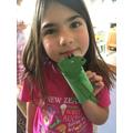 Mabel's iguana