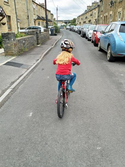 WOW -Ella riding her new bike without any support⭐