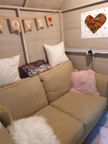 Lily-Rose's chill out zone!