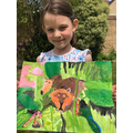 Isla's beautiful painting