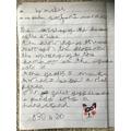 Mabel's panda's sound poem!