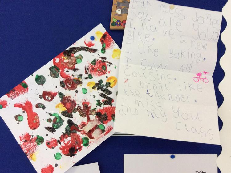 Thank you Dahlia. I loved your letter and painting