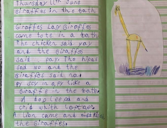 What brilliant writing, you're an author ⭐️