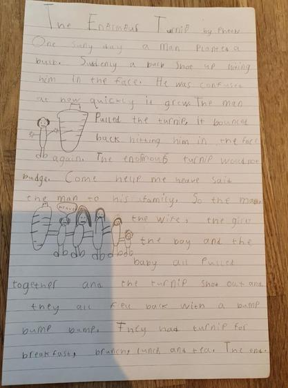 Wow, a fantastic story! Well done, Phoebe ⭐️