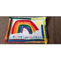Jessica's rainbow picture
