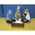 Mary, Joseph & Donkey