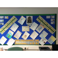 Display of non fiction writing about Anglo Saxons