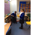 The children have been performing poems.