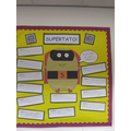 Our weeks learning was based on the book Supertato