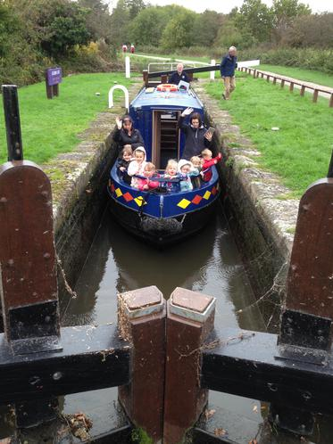 Dixon Lock on the Chesterfield Canal.
