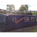 The narrowboat Madeline.