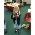 We made Sock Puppets for Children in Need