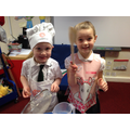 Two little chefs.