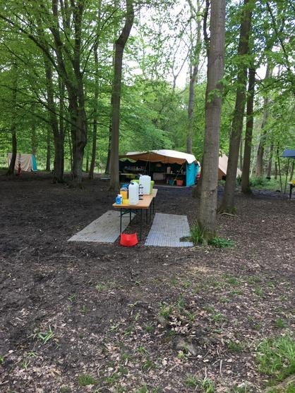 Cooks tent