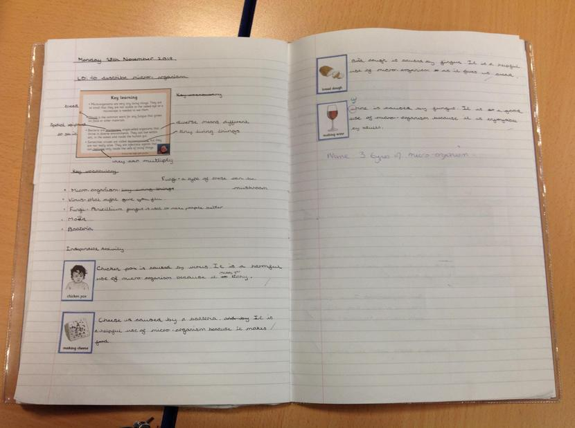 Some of our topic work