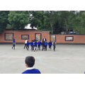 During PE, we had Victorian drills.
