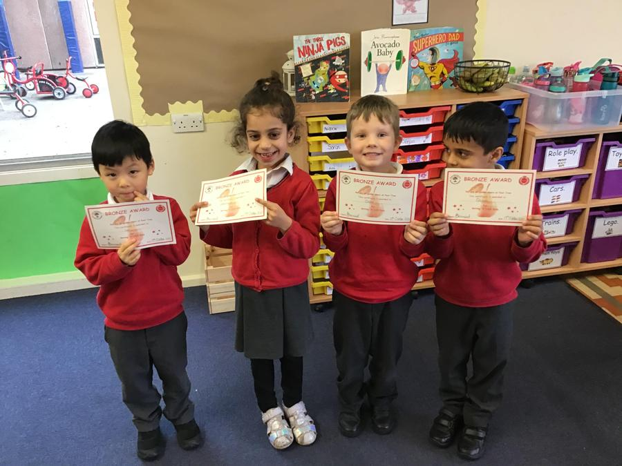 Congratulations to Leo, Varannya, Oscar and Qasim from Ash Tree Class