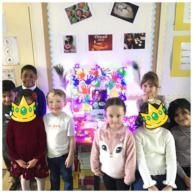 Our fantastic Diwali display in our classroom