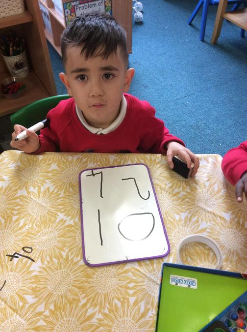Look how well we can write our numbers