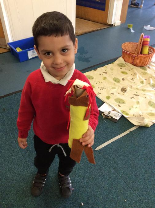 I have made a mummy doll!