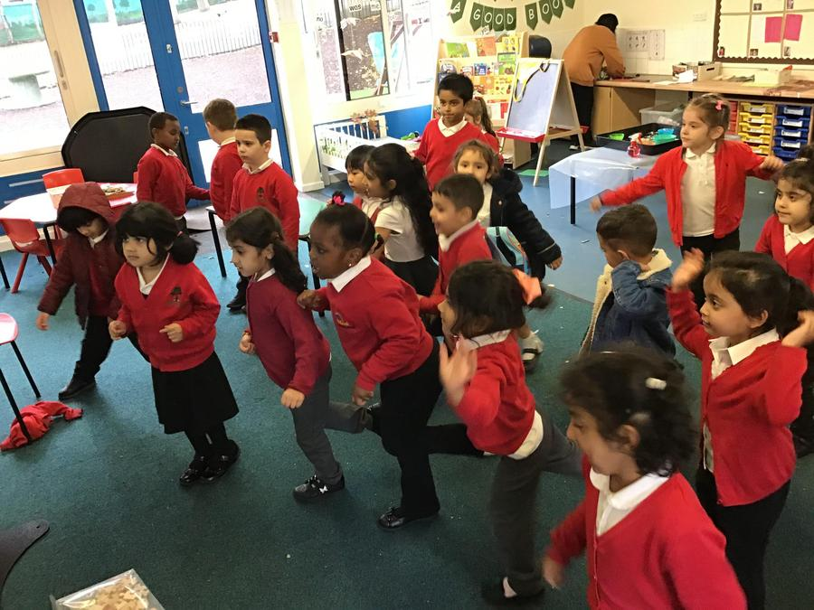 We love to be active and get our bodies moving!