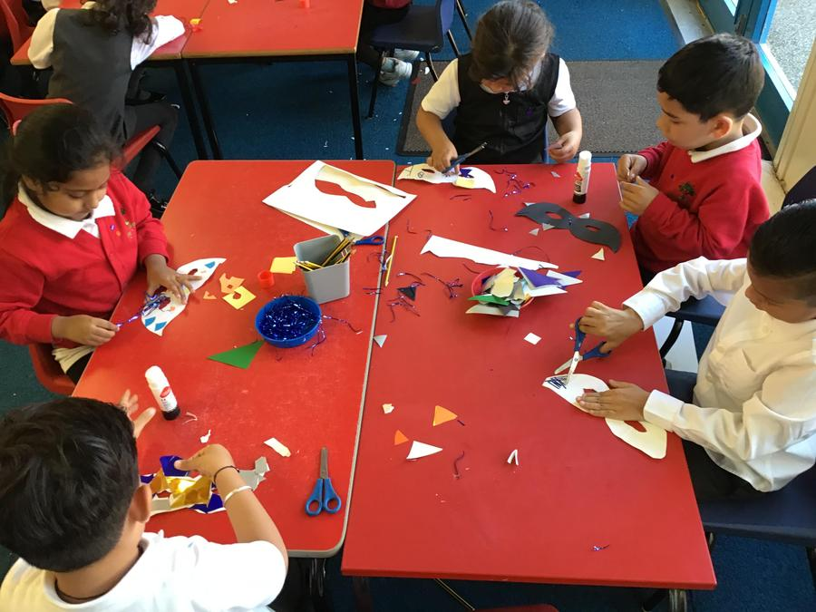 Creative time is great for our fine motor skills!