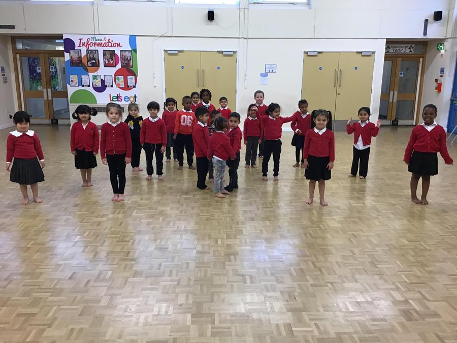 Apple Tree Class are busy refining their dancing skills!