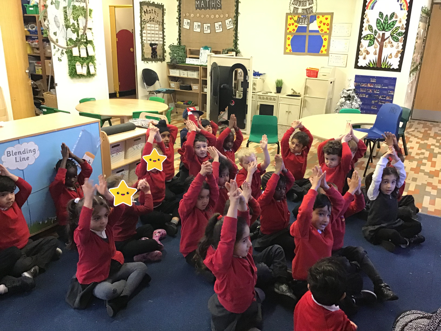 Plum Tree Class have been learning Makaton!