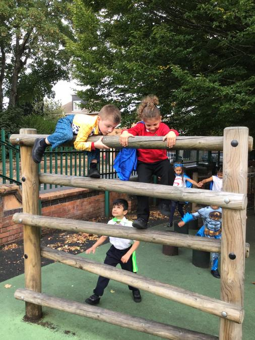 we even did an assault course!