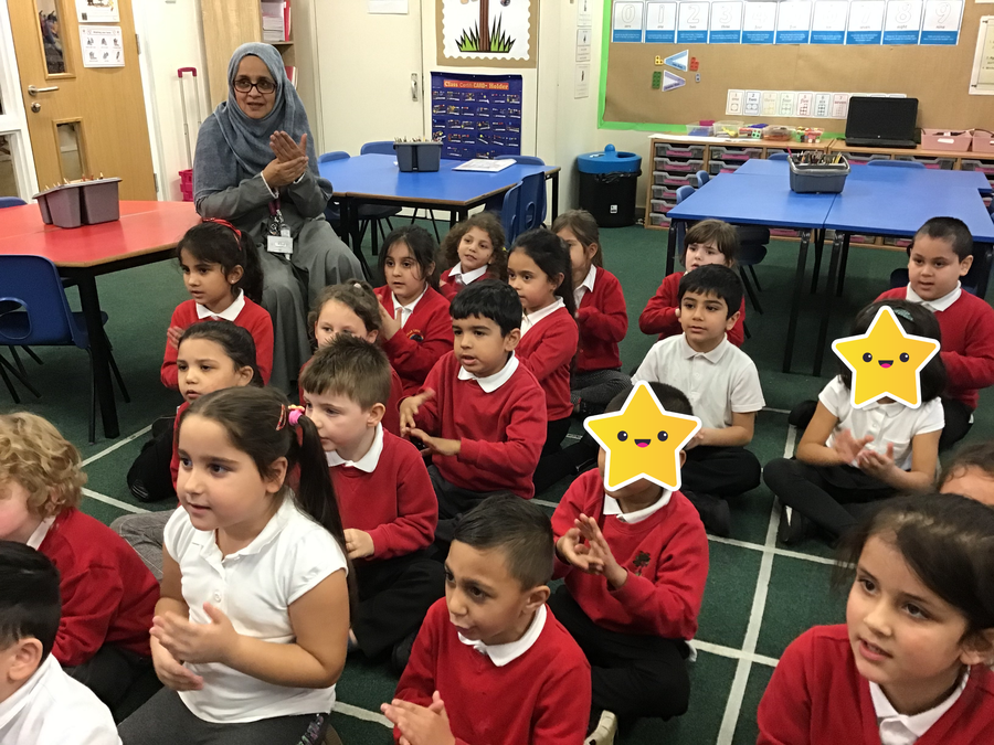 Oak Tree Class have been super learners this week, they have learnt Makaton!