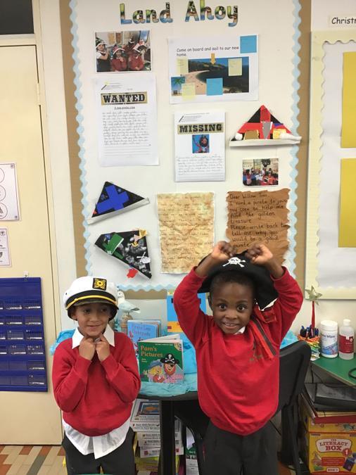Ahoy Matey's!