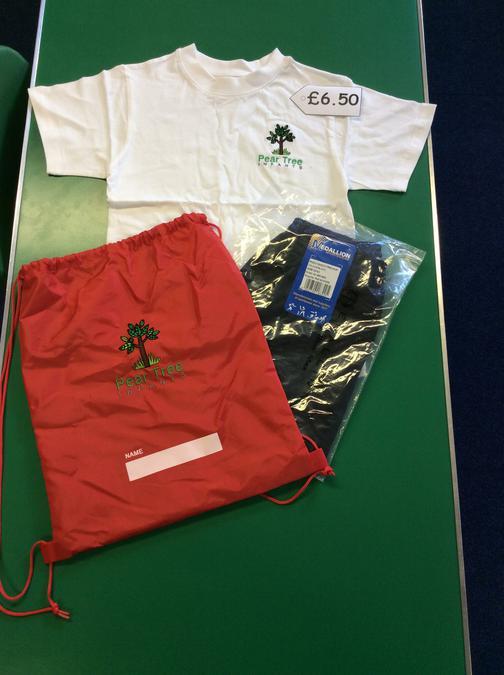 P.E kit £6.50
