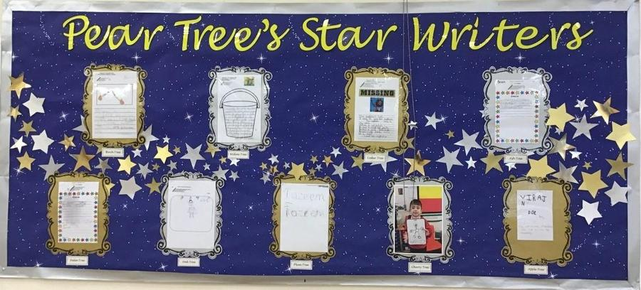 Our wonderful children have produced some super writing this half term!