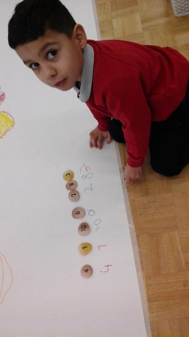 ...we looked at the different denominations of money