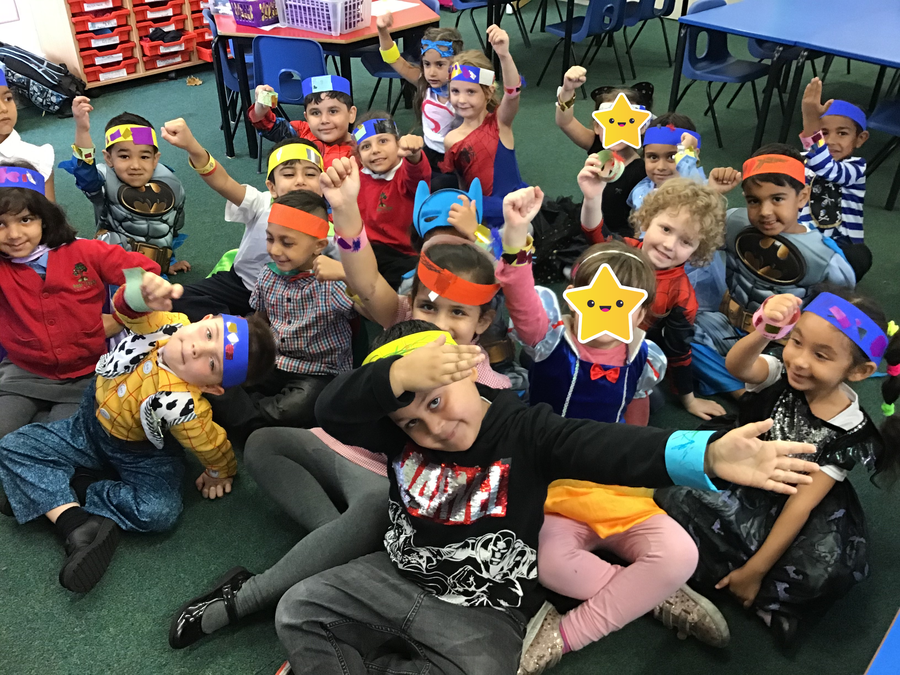 Our superhero wow day was so much fun...