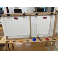 The painting easels