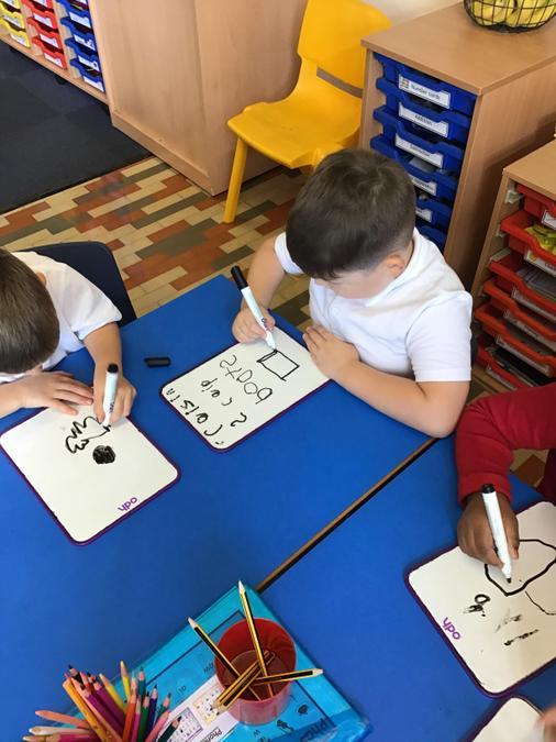 We explored our vocabulary ...