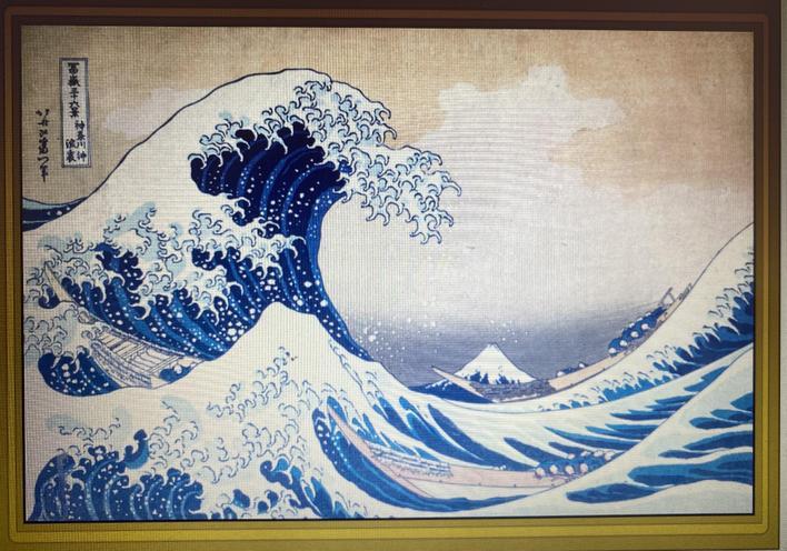 Katsushika Hokusai     The Great Wave     1832