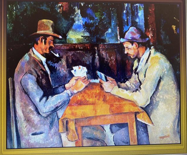 Paul Cezanne The Card Players 1895