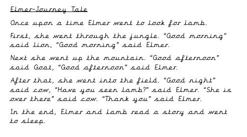 Elmer story text