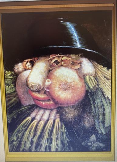 Guiseppe Arcimboldo The Greengrocer 1590