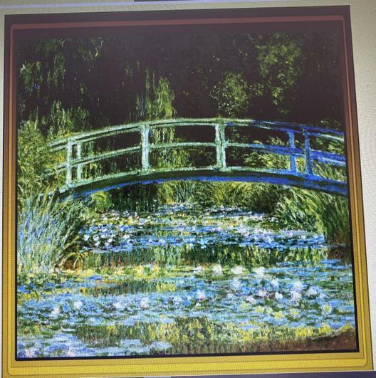 Claude Monet Water Lillies and Japanese Bridge1899